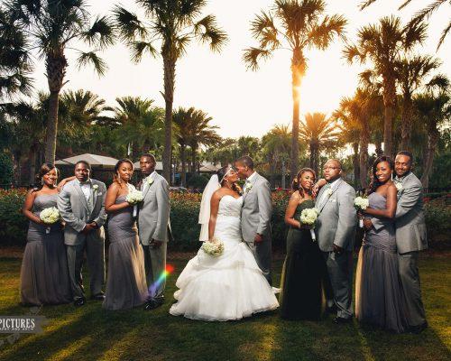 Green Wedding at Nocattee Crosswater Hall